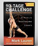 Mark Lauren's Fit ohne Geräte | 90-Tage Challenge | Bodyweight Training 8 DVD Set (German Version)