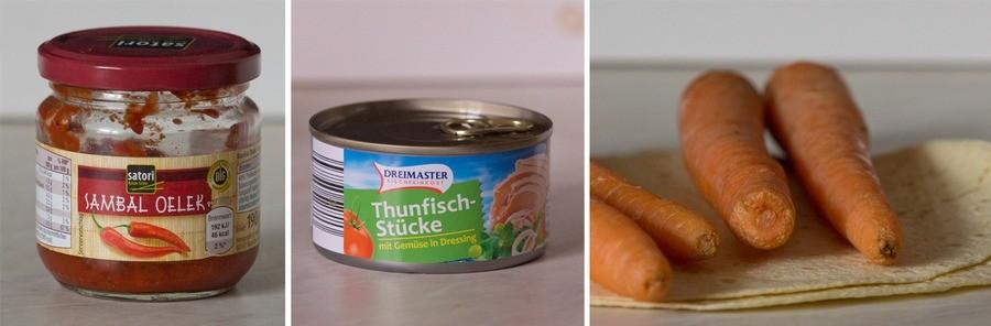 thunfish-wraps