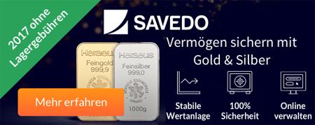 savedo in silber und gold investieren