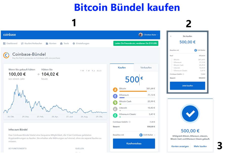 Bitcoins kaufen - bündel kaufen