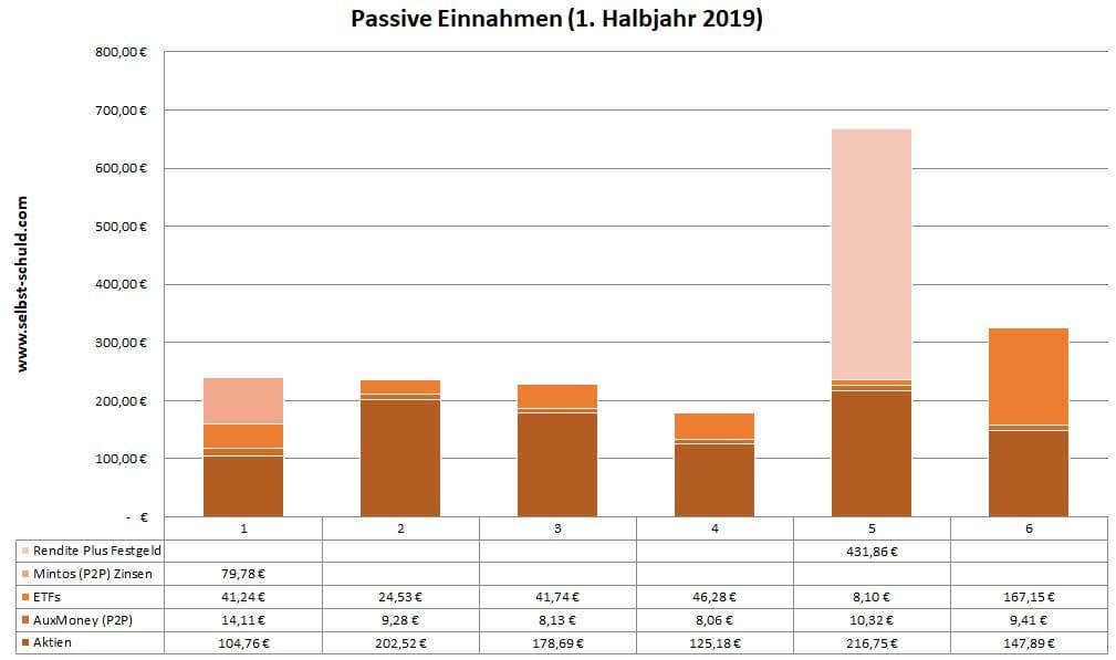 Passive Einnahmen 2019 - www.selbst-schuld