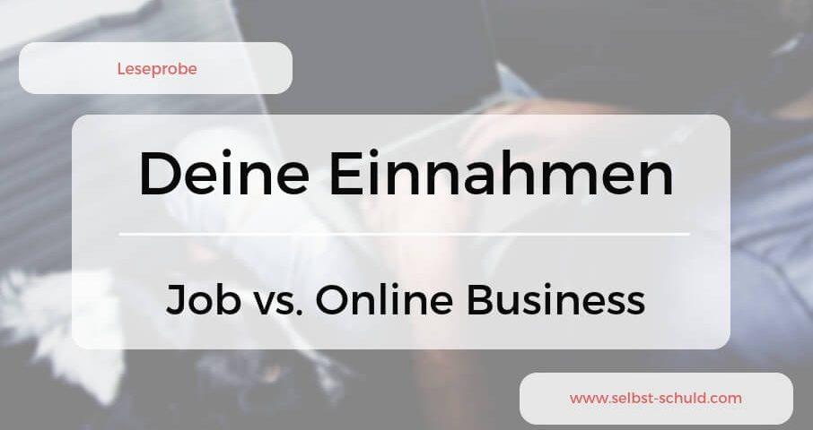 Job vs. Online Business Die Vorteile und Nachteile im Überblick
