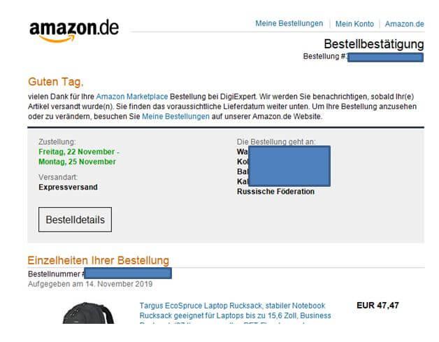 Amazon Konto Gehackt Und Bestellt
