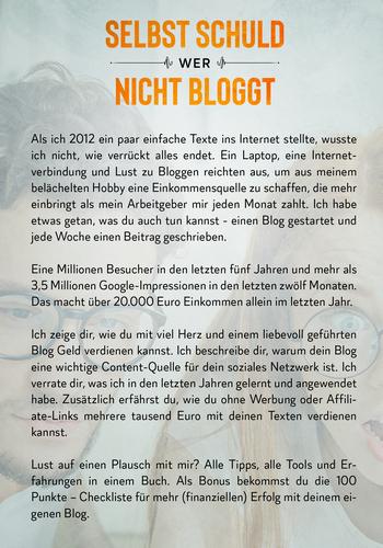 Mit Bloggen Geld verdienen - das Buch